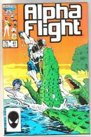Alpha Flight #41 comic book mint 9.8