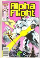 Alpha Flight #44 comic book mint 9.8