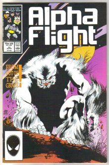 Alpha Flight #45 comic book mint 9.8