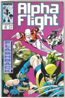 Alpha Flight #52 comic book mint 9.8