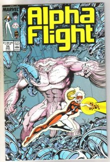 Alpha Flight #56 comic book near mint 9.4