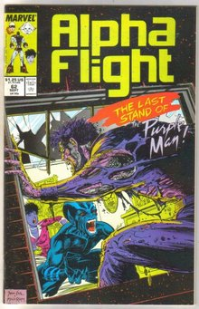 Alpha Flight #62 comic book mint 9.8