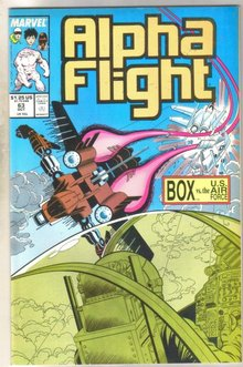 Alpha Flight #63 comic book mint 9.8