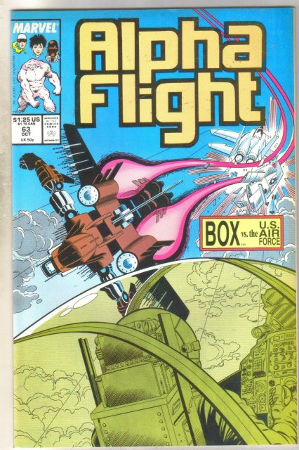 Alpha Flight #63 comic book mint 9.8