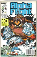 Alpha Flight #65 comic book mint 9.8