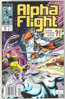 Alpha Flight #66 comic book near mint 9.4