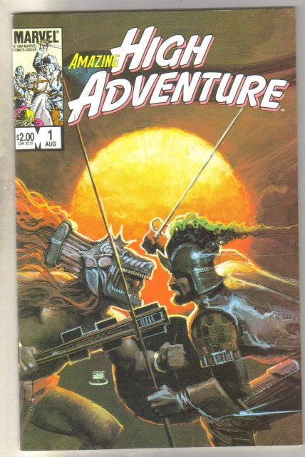Amazing High Adventure #1 comic book mint 9.8