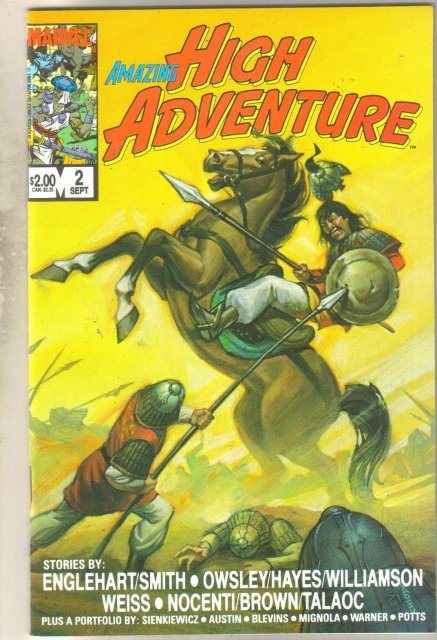 Amazing High Adventure #2 comic book mint 9.8