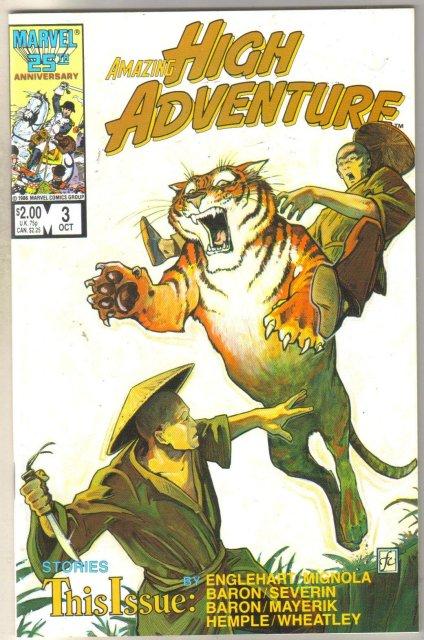 Amazing High Adventure #3 comic book near mint 9.4