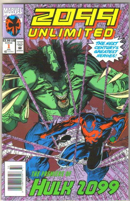 2099 Unlimited #1 comic book mint 9.8