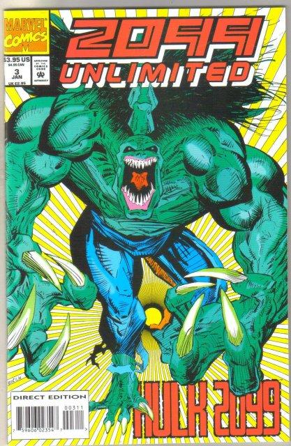 2099 Unlimited #3 comic book mint 9.8