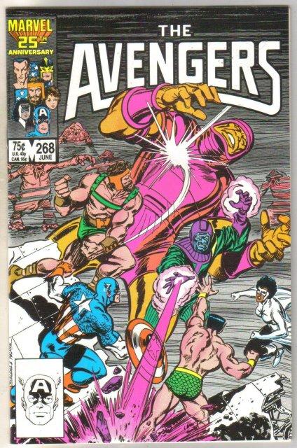 The Avengers #268 comic book mint 9.8