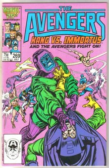 The Avengers #269 comic book near mint 9.4