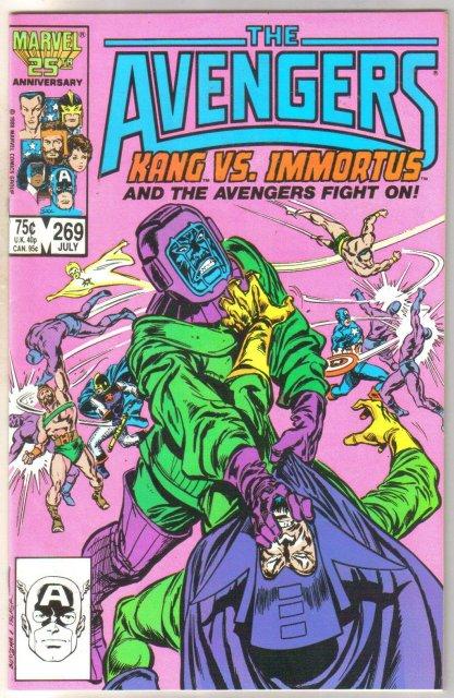 The Avengers #269 comic book near mint 9.4