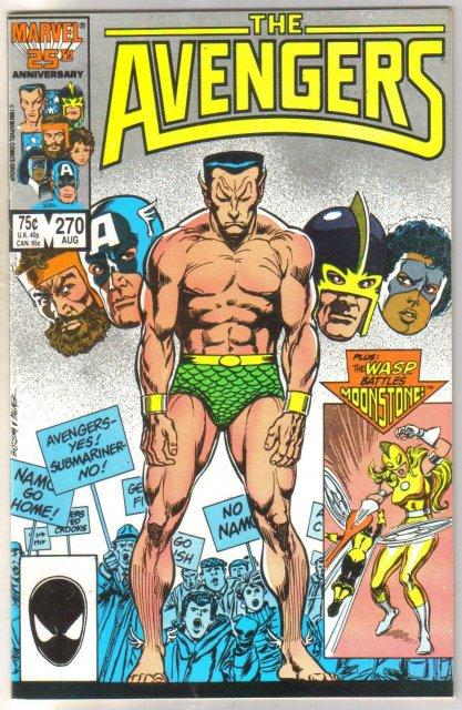 The Avengers #270 comic book mint 9.8