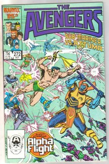 The Avengers #272 comic book near mint 9.4
