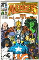 The Avengers #279 comic book near mint 9.4
