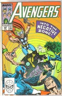 The Avengers #309 comic book near mint 9.4