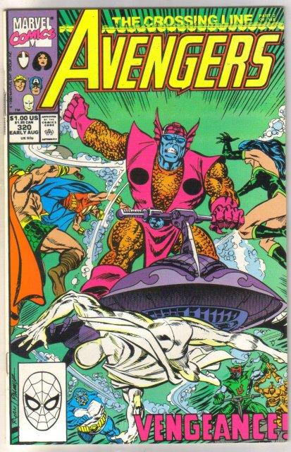 Avengers #321 comic book near mint 9.4