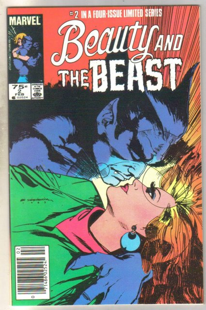 Beauty and the Beast #2 comic book mint 9.8
