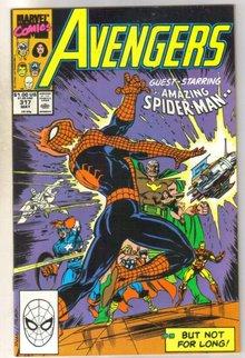 Avengers #317 comic book mint 9.8
