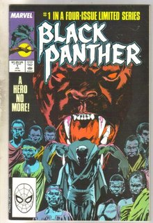 Black Panther #1 comic book very good 4.0