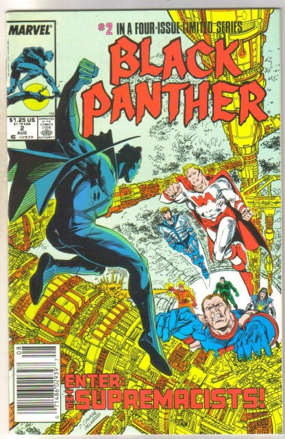 Black Panther #2 comic book mint 9.8