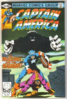 Captain America #251 comic book near mint 9.4e 8.0