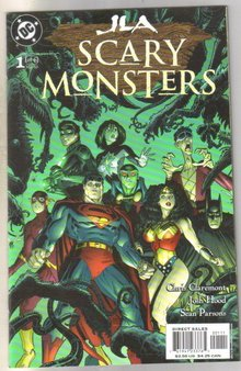 JLA Scary Monsters #1 comic book  mint 9.8
