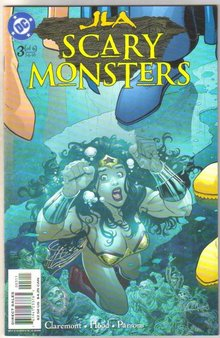 JLA Scary Monsters #3 comic book  mint 9.8
