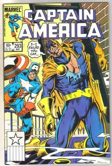 Captain America #293 comic book near mint 9.4