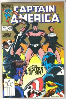 Captain America #295 comic book near mint 9.4