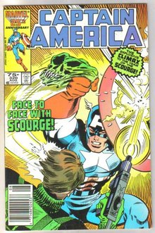 Captain America #320 comic book near mint 9.4