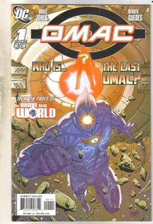 Omac #1 comic book mint 9.8
