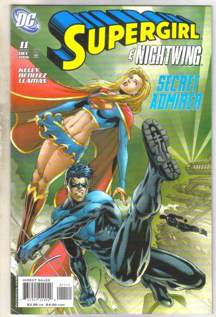 Supergirl #11 comic book mint 9.8