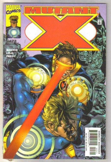Mutant X #23 comic book mint 9.8