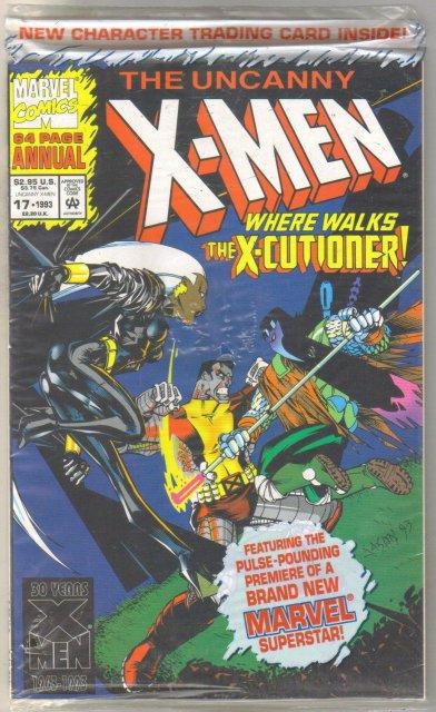 Uncanny X-men annual #17 mint 9.8
