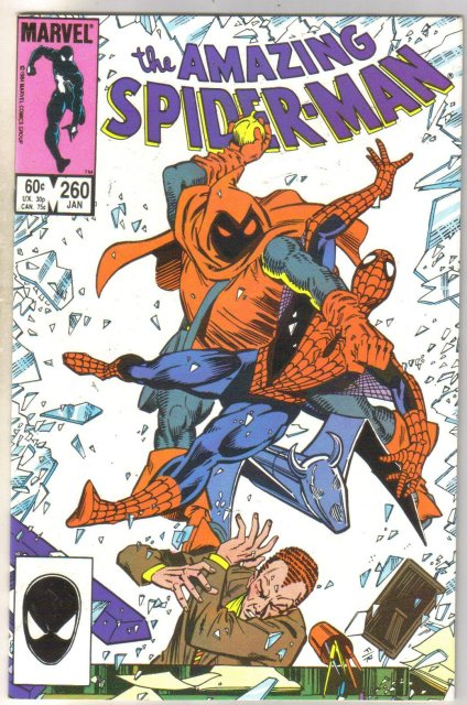 Amazing Spider-man #260 comic book near mint 9.4