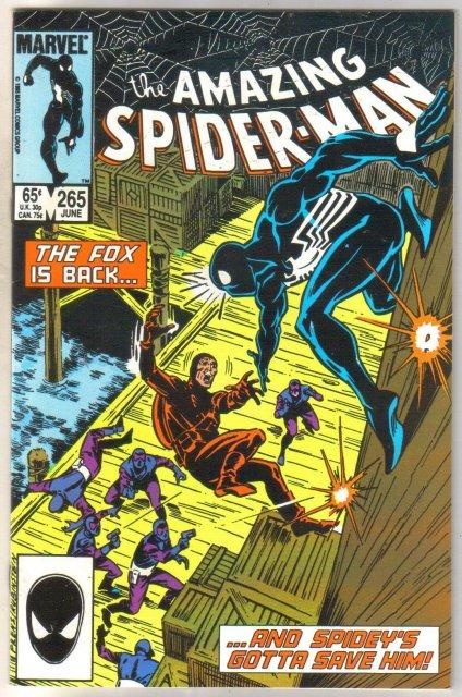 Amazing Spider-man #265 comic book near mint 9.4