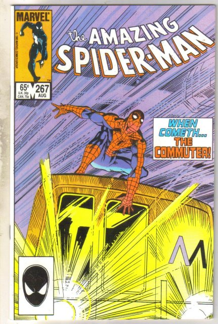 Amazing Spider-man #267 comic book near mint 9.4