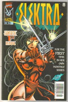 Elektra #1 comic book near mint 9.4