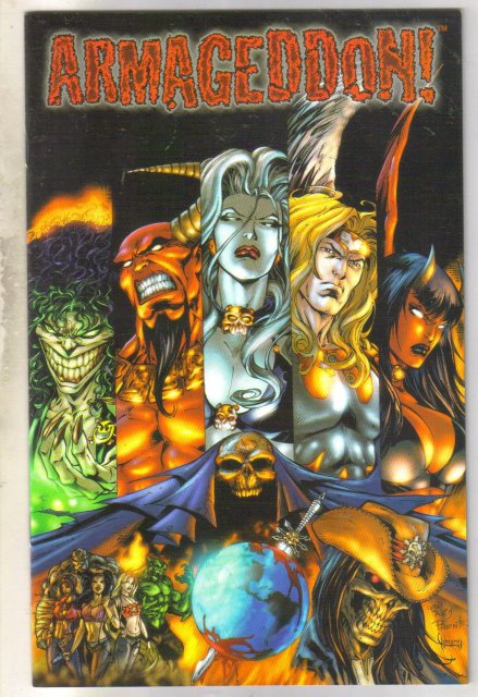 Armageddon #1 with Evil Ernie and Lady Death comic book near mint 9.4