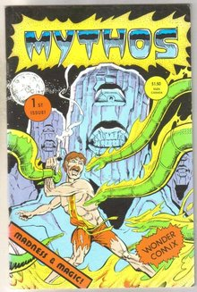 Mythos #1 comic book very fine 8.0