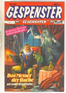 Gespenster Geschichten #572 German language comic book