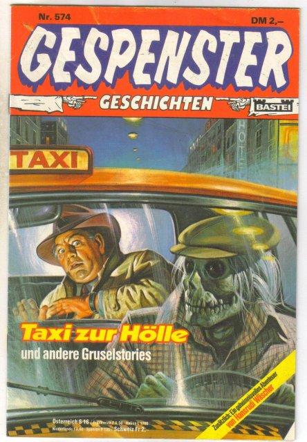 Gespenster Geschichten #574 German language comic book