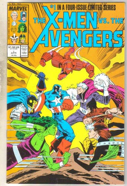 X-men vs the Avengers #1 comic book mint 9.8
