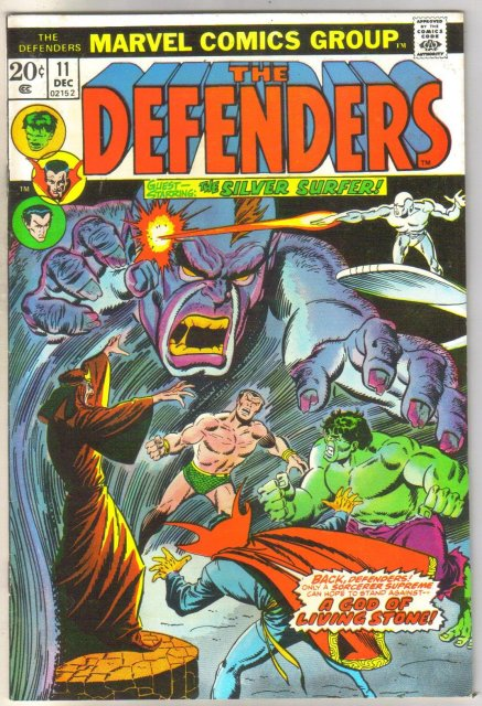 Defenders #11 comic book very fine 8.0