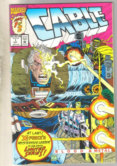 Cable #1 comic book near mint 9.4