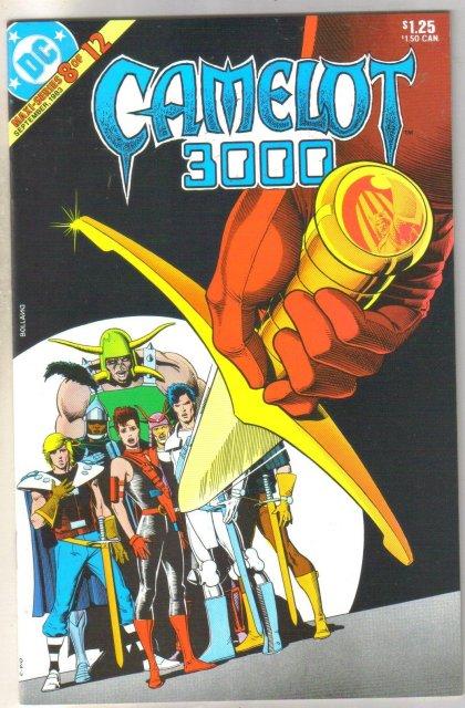 Camelot 3000 #8 comic book mint 9.8
