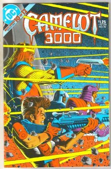 Camelot 3000 #10 comic book mint 9.8